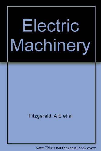 9780070852242: Electric Machinery