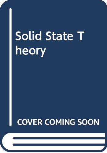 9780070852839: Solid state theory