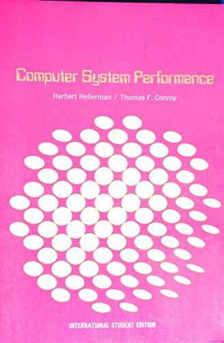 9780070853072: Computer System Performance
