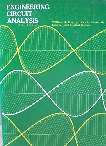 9780070853102: Engineering Circuit Analysis