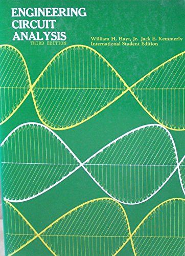 9780070853102: Engineering Circuit Analysis