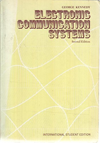 9780070853546: Electronic Communication Systems