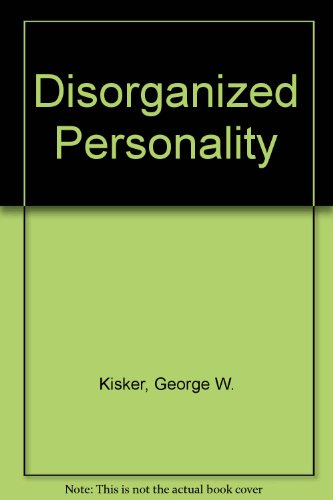 9780070853591: The Disorganized Personality