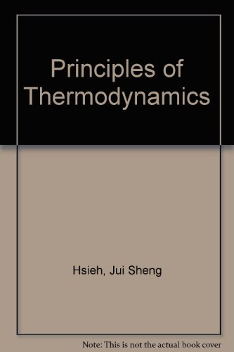 9780070853935: Principles of Thermodynamics