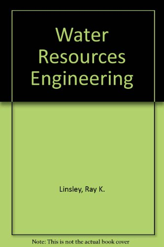 9780070854352: Water Resources Engineering.
