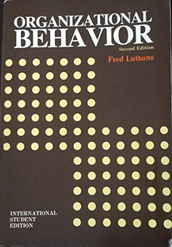 9780070854376: Organizational Behavior