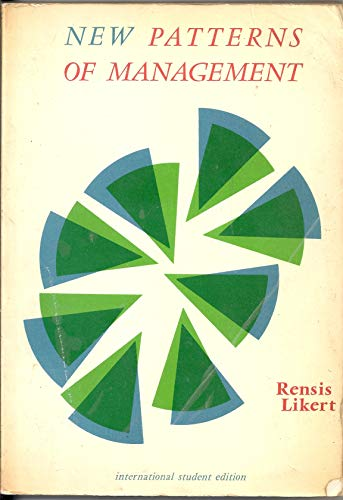 9780070854543: New Patterns of Management