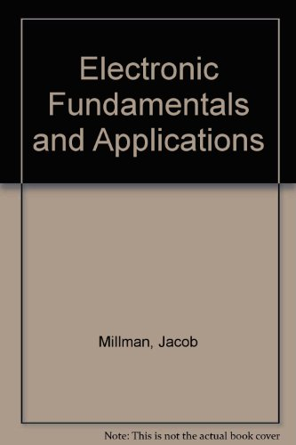 9780070854680: Electronic Fundamentals and Applications