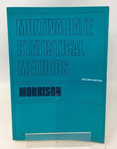 9780070854697: 2e Multivariate Stat Meths -Ise