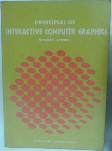 9780070855359: Principles of Interactive Computer Graphics
