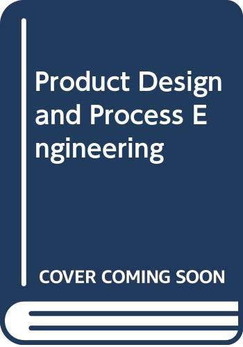 9780070855397: Product Design and Process Engineering
