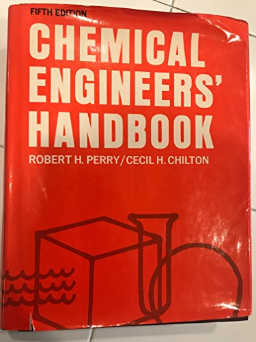 9780070855472: Chemical Engineers' Handbook - Fifth Edition