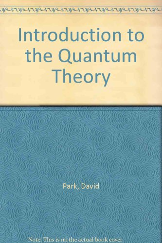 9780070855519: Introduction to the Quantum Theory
