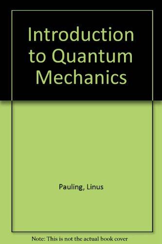 9780070855571: Introduction to Quantum Mechanics