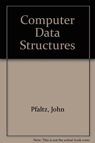9780070855595: Computer Data Structures