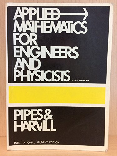 9780070855779: Applied Mathematics for Engineers and Physicists