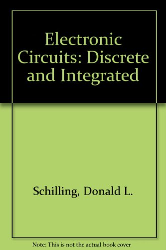9780070856486: Electronic circuits, discrete and integrated