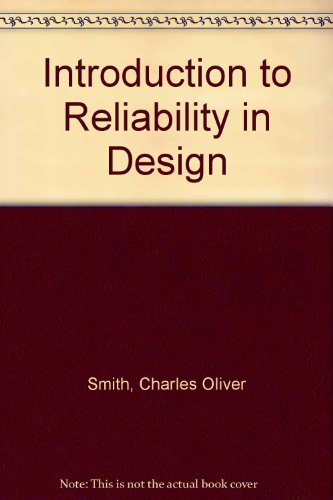 9780070856653: Introduction to Reliability in Design