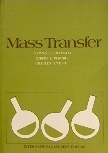 9780070856868: Mass Transfer (McGraw-Hill chemical engineering series)