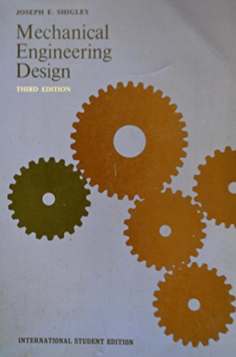 9780070857223: Mechanical Engineering Design