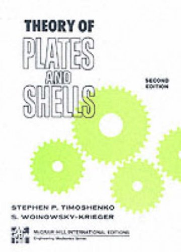 9780070858206: The Theory of Plates and Shells (McGraw-Hill Classic Textbook Reissue Series)
