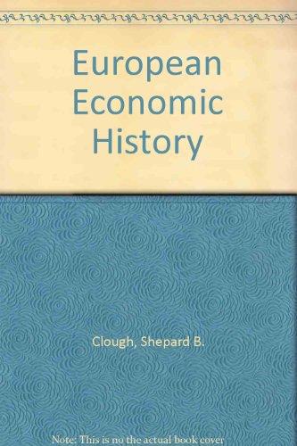 9780070858879: European Economic History