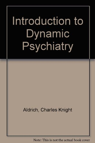 9780070859241: An introduction to dynamic psychiatry