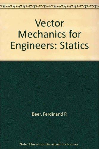9780070859418: Vector Mechanics for Engineers: Statics