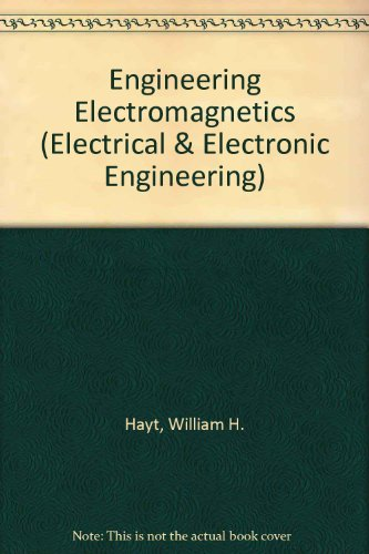 9780070859555: Engineering Electromagnetics (Electrical & Electronic Engineering)