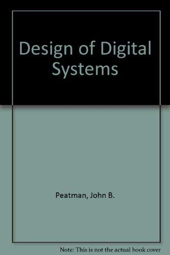 9780070859579: The Design Of Digital Systems
