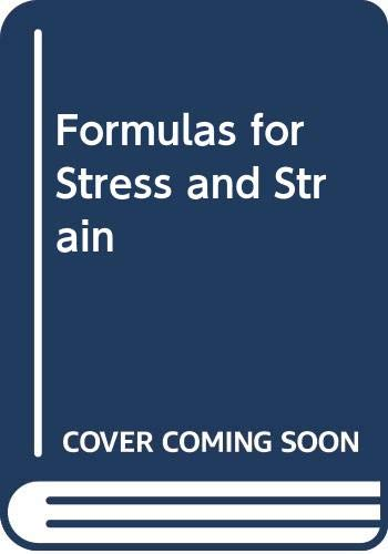 9780070859838: Formulas for Stress and Strain