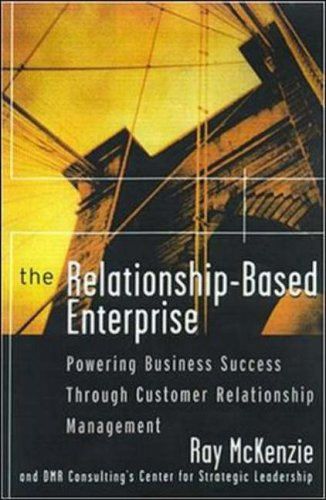 9780070860810: The Relationship-based Enterprise: Powering Business Success Through Customer Relationship Management