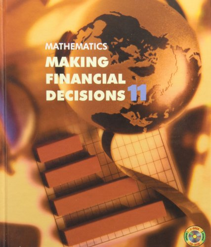 9780070864887: Mathematics : Making Financial Decisions 11
