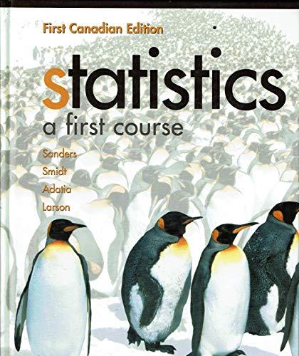 9780070871519: Statistics: A First Course