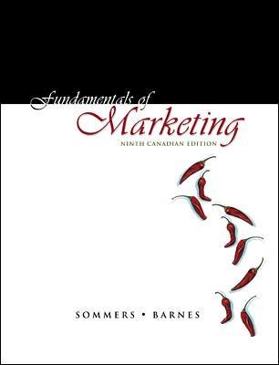 9780070872523: Fundamentals of Marketing