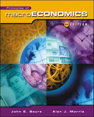 Principles of Macroeconomics: John Sayre, Alan