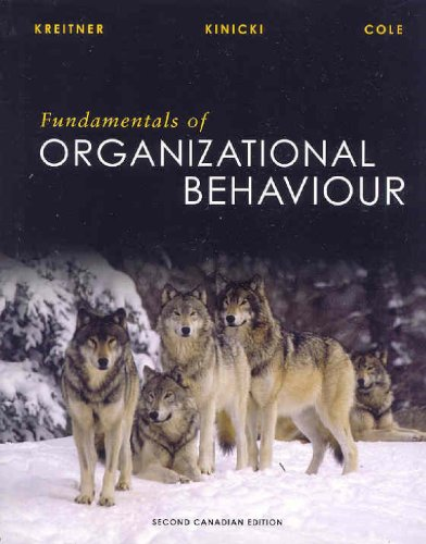 9780070876958: Fundamentals of Organizational Behaviour