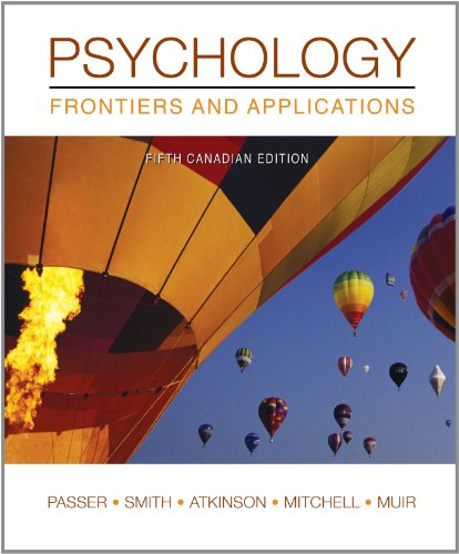 Psychology Frontiers and Applications: Ronald Smith (Author)