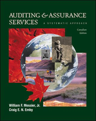 Auditing and Assurance Services:: William F Messier, Craig Emby