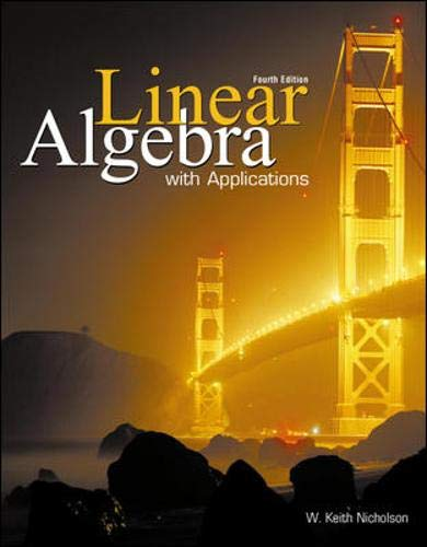 9780070880467: Linear Algebra with Applications