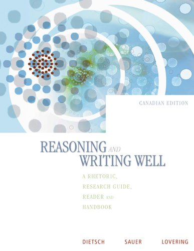 9780070888227: Reasoning and Writing Well [Paperback] by Dietsch, Betty Mattix; Sauer, Lara