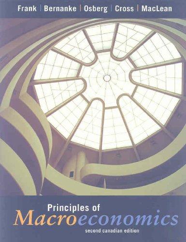 9780070889149: Principles of Macroeconomics