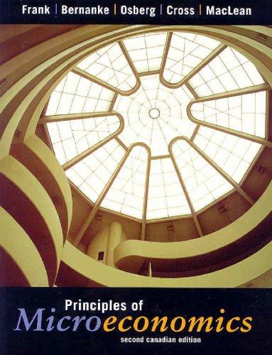 9780070889156: Principles of Microeconomics