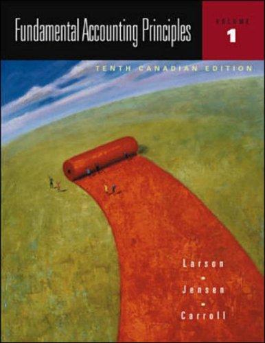 9780070889842: Fundamental Accounting Principles, Volume 1