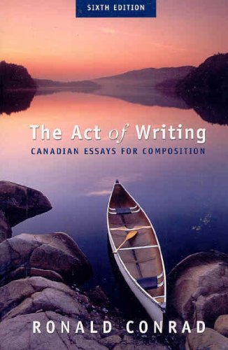 9780070890558: Act of Writing