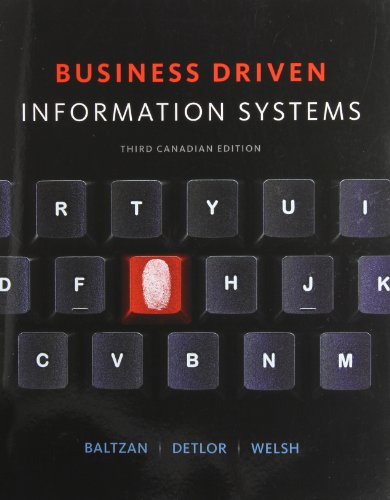 9780070890909: Business Driven Information Systems