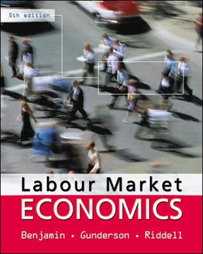 9780070891548: Labour Market Economics