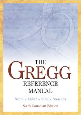 9780070891661: The Gregg Reference Manual