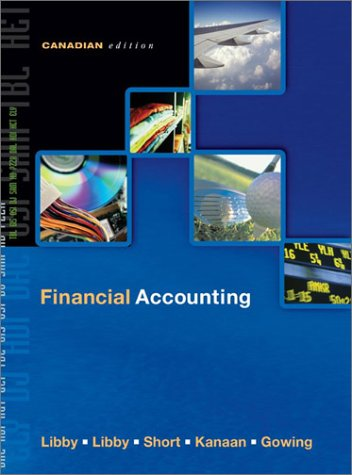 Financial Accounting: Robert Libby, Patricia
