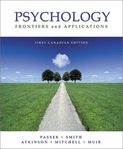 9780070891883: Psychology: Frontiers and Applications